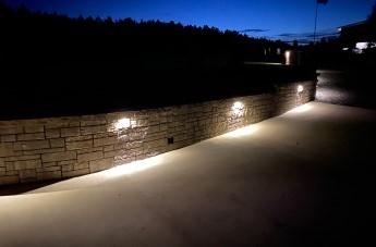 Low-Voltage Lighting Installation